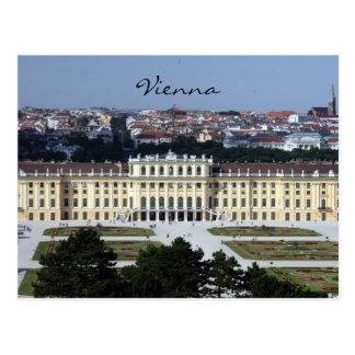 Carte Postale vue de schönbrunn