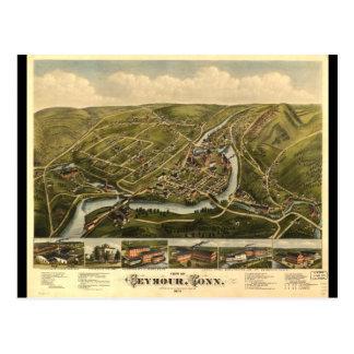 Carte Postale Vue de Seymour le Connecticut (1879)