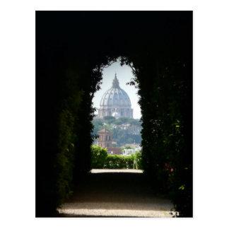 Carte Postale Vue de trou de la serrure de la basilique de St