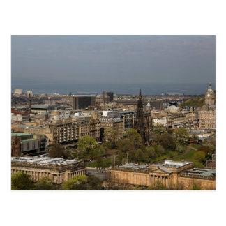 Carte Postale Vue d'Edimbourg