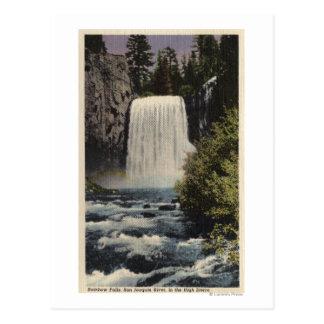 Carte Postale Vue des automnes du Rio San Joaquin et