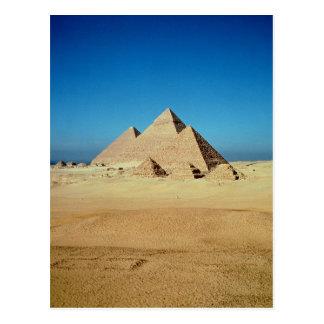 Carte Postale Vue des pyramides
