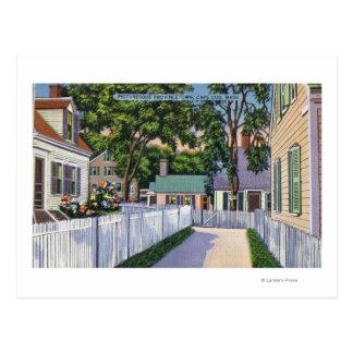 Carte Postale Vue des résidences pittoresques