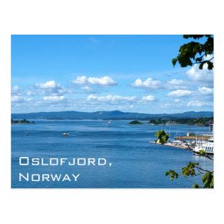 Carte Postale Vue d'été d'Oslofjord d'Oslo, Norvège
