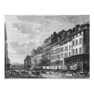 Carte Postale Vue du Canebiere à Marseille
