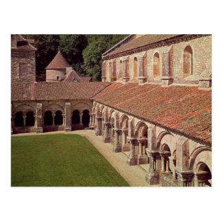 Carte Postale Vue du cloître 2