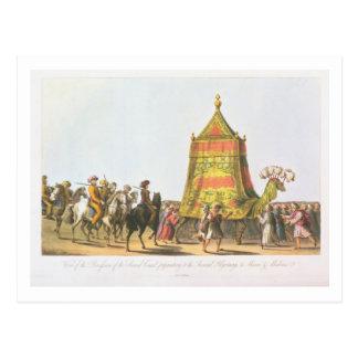 Carte Postale Vue du cortège du prepara sacré de chameau