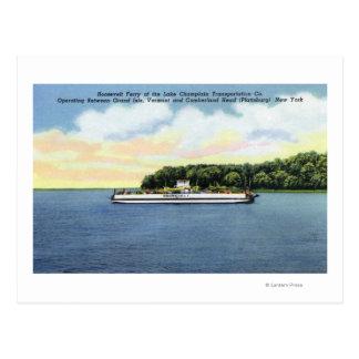Carte Postale Vue du ferry de Roosevelt