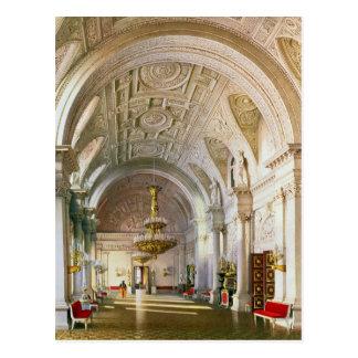 Carte Postale Vue du Hall blanc dans le palais d'hiver