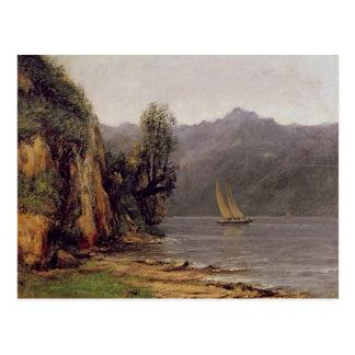 Carte Postale Vue du Lac Leman, c.1873-77
