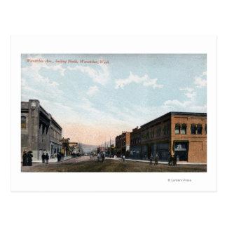 Carte Postale Vue du nord d'avenue de Wenatchee