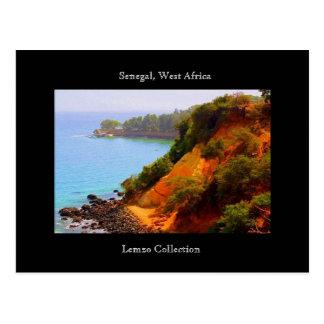 Carte Postale Vue du Sénégal, océan de l'Afrique de l'ouest