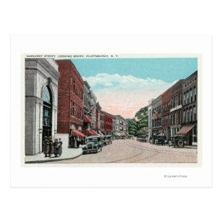 Carte Postale Vue du sud de rue de Margaret