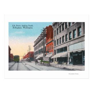 Carte Postale Vue du sud de rue d'élans