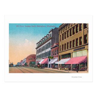 Carte Postale Vue du sud des élans StreetBellingham, WA