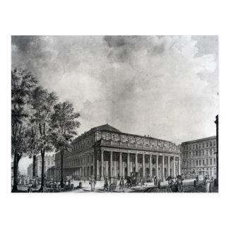 Carte Postale Vue du théâtre grand, Bordeaux