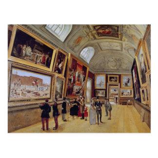 Carte Postale Vue d'une salle dans le Musee du Luxembourg dedans
