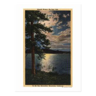 Carte Postale Vue éclairée par la lune du lac