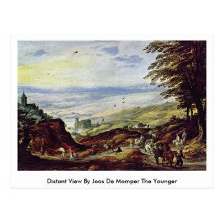 Carte Postale Vue éloignée par Joos De Momper The plus jeune