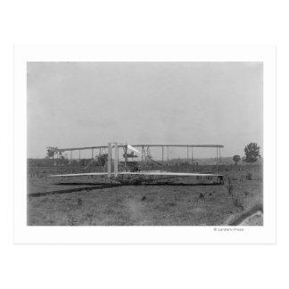 Carte Postale Vue en gros plan plate de frères de Wright