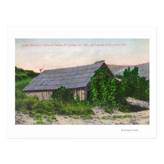 Carte Postale Vue extérieure de cabine de James Marshall