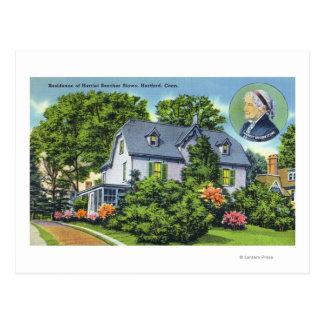 Carte Postale Vue extérieure de Harriet Beecher Stowe