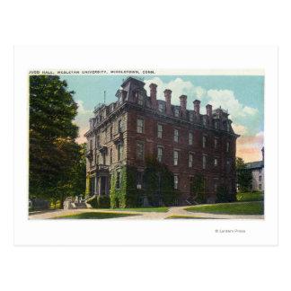 Carte Postale Vue extérieure de Judd Hall, université wesleyenne
