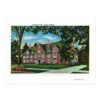 Carte Postale Vue extérieure de Kendrick Hall, université de
