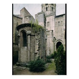 Carte Postale Vue extérieure de l'apsidiole de l'abbaye