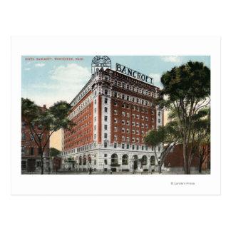 Carte Postale Vue extérieure de l'hôtel Bancroft