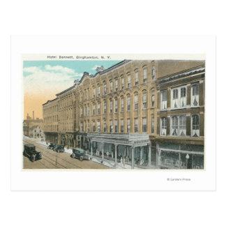 Carte Postale Vue extérieure de l'hôtel Bennett