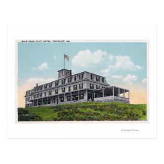 Carte Postale Vue extérieure de l'hôtel de falaise de tête