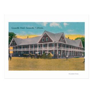 Carte Postale Vue extérieure de l'hôtel de Greenville