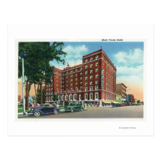 Carte Postale Vue extérieure de l'hôtel de Mark Twain