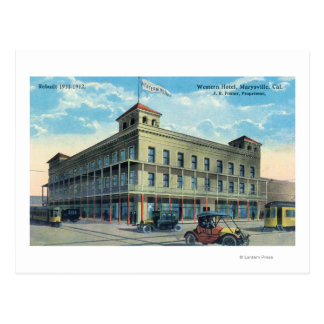 Carte Postale Vue extérieure de l'hôtel occidental