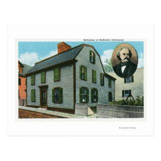 Carte Postale Vue extérieure de Nathaniel Hawthorne