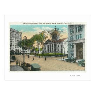 Carte Postale Vue extérieure de palais de justice