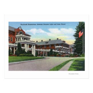 Carte Postale Vue extérieure de sanatorium de Raybrook