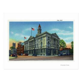 Carte Postale Vue extérieure de ville hôtel 3