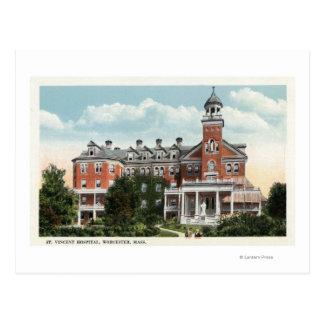 Carte Postale Vue extérieure d'hôpital de St Vincent
