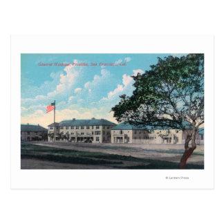 Carte Postale Vue extérieure d'Hôpital Général, Presidio
