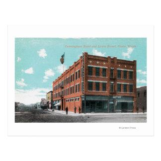 Carte Postale Vue extérieure d'hôtel de Cunningham sur le St de