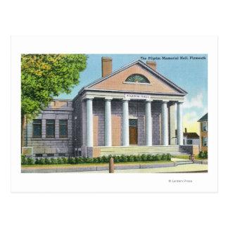 Carte Postale Vue extérieure du pèlerin Memorial Hall