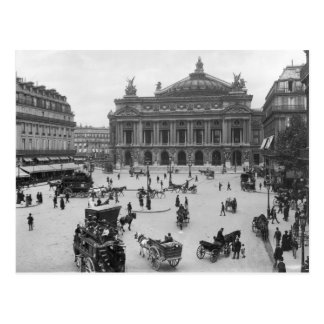 Carte Postale Vue générale du théatre de l'opéra de Paris