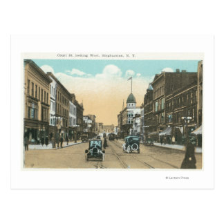 Carte Postale Vue occidentale de rue de cour