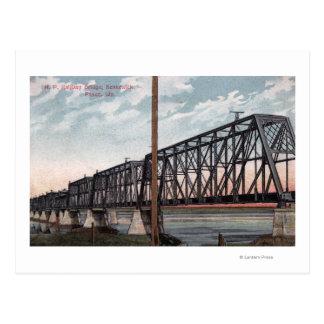 Carte Postale Vue Pacifique du nord de pont