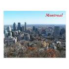 Carte Postale Vue panoramique de Montréal