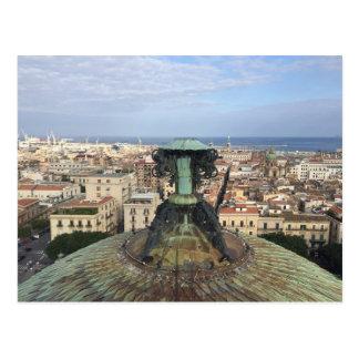 Carte Postale Vue panoramique de Palerme