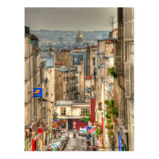 Carte Postale Vue parisienne
