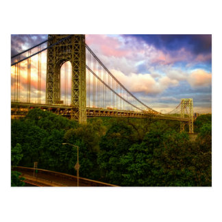 Carte Postale Vue semblant du sud - occidental de Manhattan